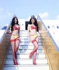 越南空姐宣传照引争议