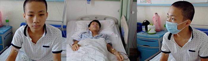 海南万宁市少年患血癌盼救助