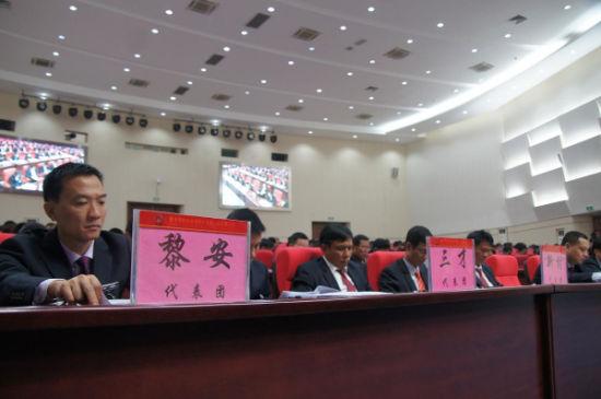 陵水黎族自治县十四届人大五次会议隆重开幕