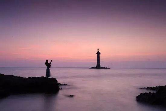 海南最美的夕阳在大小洞天