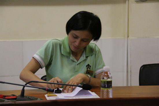 于丽总监代表景区签章