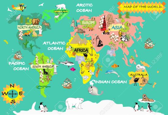 宝藏地图简笔画儿童