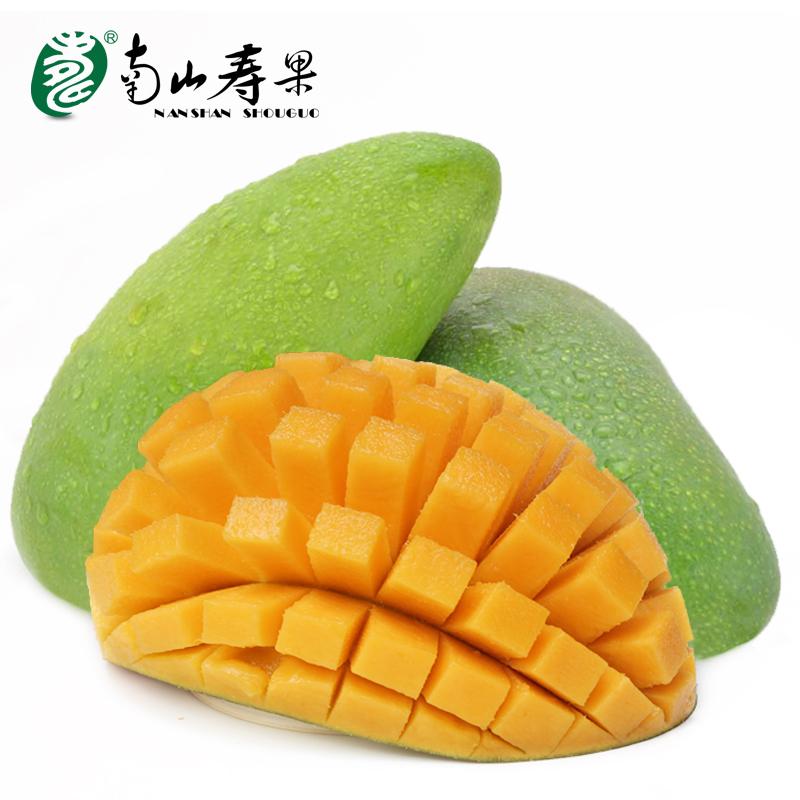 海南三亚大青芒5斤 个大,皮薄,核小,香甜多汁 价格: ¥98.