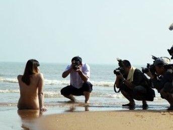 美丽海南人体摄影