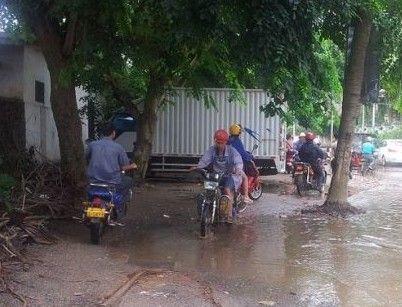 勋亭路逢雨必淹
